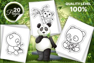 Print on Demand: Panda Scissor Skills Pages for Kids Graphic Coloring Pages & Books Kids By Trend Color