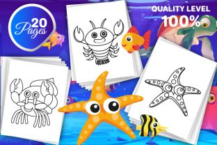 Print on Demand: Sea Animals Coloring Pages for Kids Graphic Coloring Pages & Books Kids By Trend Color