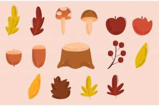 Autumn Vector Illustration Graphic Illustrations By april_arts