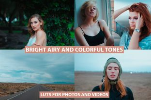 LUTs for Photos and Videos Cinematic Graphic Actions & Presets By Visual Filters