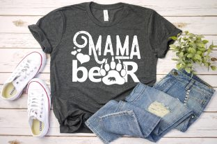 Mama Bear SVG Mommy Mom to Be Mothers Graphic Illustrations By Yayasvg