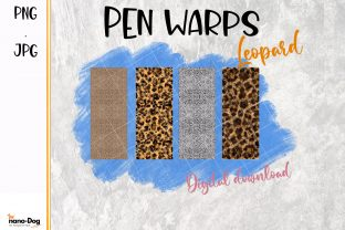 Pen Warps,Leo Pard, Leopard Pattern Graphic Print Templates By NanoDog-shop