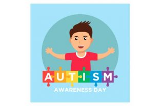 Print on Demand: World Autism Awareness Day Background Graphic Illustrations By Redvy Creative