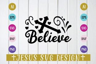 Believe Graphic Crafts By Printable Store