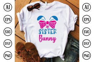 Sister Bunny Graphic Crafts By Printable Store