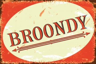 Print on Demand: Broondy Serif Font By iordache.ionut