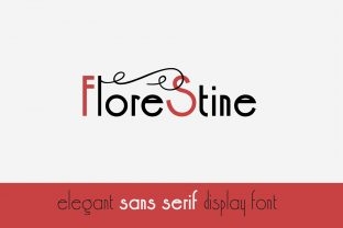 Print on Demand: Florestine Sans Serif Font By iordache.ionut