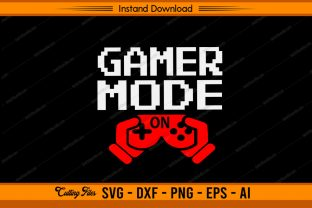 Gamer Mode on Graphic Print Templates By sketchbundle
