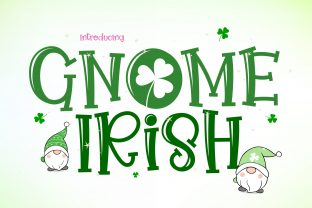 Print on Demand: Gnome Irish Display Font By BB Digital Arts