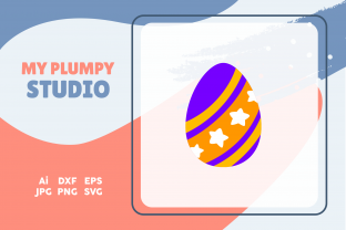 Happy Easter - Icons Colorful Graphic Icons By myplumpystudio