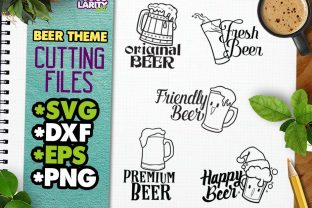 Kawaii Beer SVG Cut Files Graphic Illustrations By JocularityArt