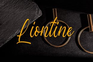 Print on Demand: Liontine Script & Handwritten Font By fiqiart09