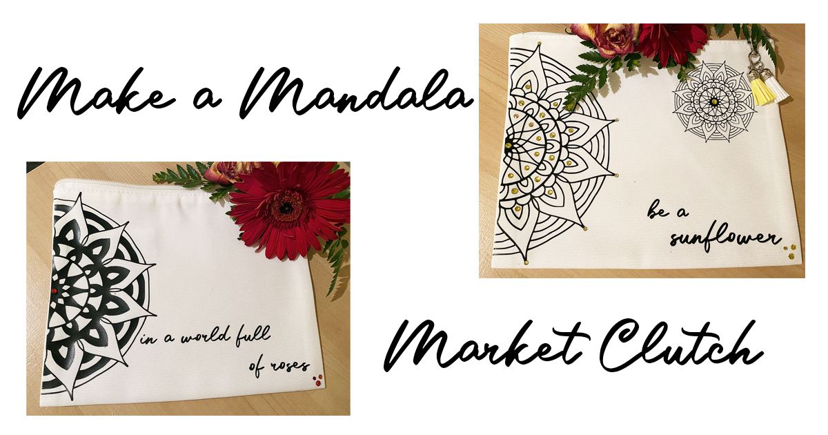 Make a Mandala Market Clutch