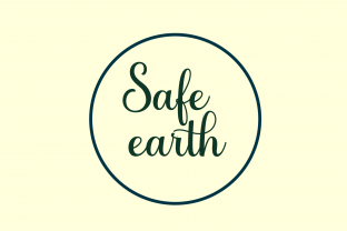 Print on Demand: Save Earth Awareness Embroidery Design By setiyadissi