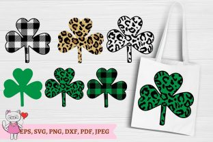 Shamrock Svg Bundle, St Patrick's Day Graphic Illustrations By  Magic world of design