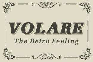 Print on Demand: Volare Display Font By iordache.ionut