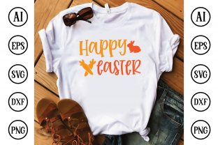 Print on Demand: Happy Easter Graphic Crafts By Printable Store