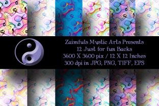 12 Just for Fun Backgrounds Graphic Backgrounds By Zaimfuls Mystic Arts