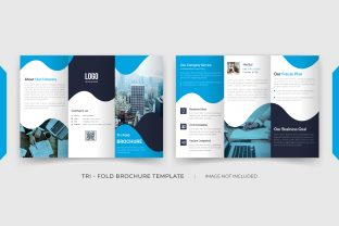 6 Pages Tri Fold Brochure Template Graphic Print Templates By grgroup03