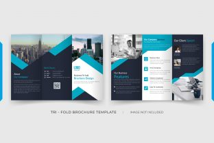 6 Pages Tri-fold Brochure Template Graphic Print Templates By grgroup03