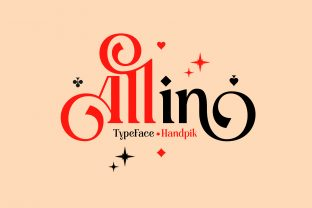 Print on Demand: Allin Serif Font By handpik