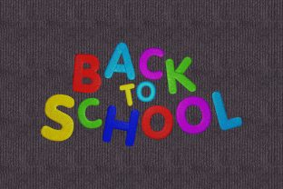Back to School Back to School Embroidery Design By Digital Creations Art Studio