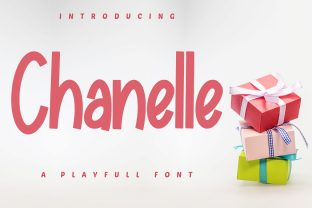 Print on Demand: Chanelle Display Font By Skiiller Studio