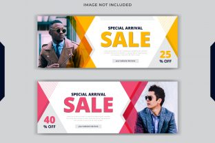 Fashion Sale Social Post Facebook Cover Graphic Web Templates By grgroup03