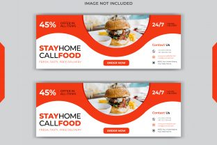 Food Social Post Facebook Cover Design Graphic Web Templates By grgroup03