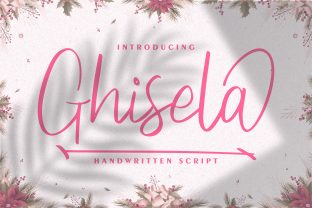 Print on Demand: Ghisela Script & Handwritten Font By Vunira