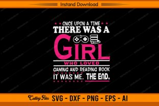 Girl Gaming Graphic Print Templates By sketchbundle