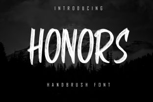 Print on Demand: Honors Display Font By Skiiller Studio