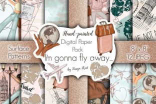 I'm Gonna Fly Away Graphic Patterns By Tanya Kart