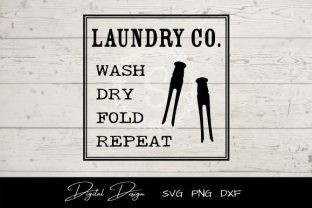 Laundry Co. Sign SVG Graphic Crafts By sayitwithsimplicity