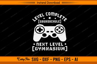 Level Complete Gamer Design Graphic Print Templates By sketchbundle