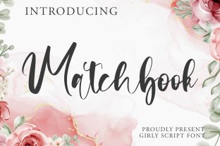 Print on Demand: Matchbook Script & Handwritten Font By HaftType