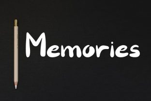 Print on Demand: Memories Display Font By PurMoon