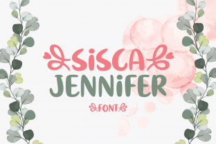 Print on Demand: Sisca Jennifer Script & Handwritten Font By Creative Fabrica Fonts