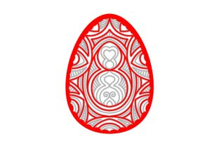 Multi Layered Easter Egg Mandala Easter Craft Cut File By Creative Fabrica Crafts