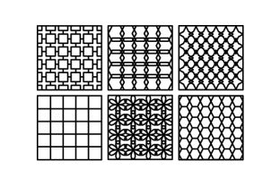 Repeating Patterns Designs & Drawings Craft Cut File By Creative Fabrica Crafts