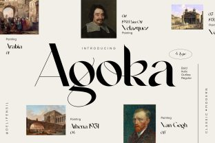 Print on Demand: Agoka Serif Font By delipensil
