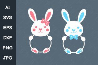 Print on Demand: Bunny Graphic Illustrations By CRStocker