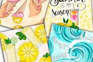 Colorful Splatters of Summer Pattern Graphic Patterns By Tanya Kart 4