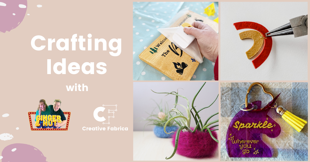 Craft Ideas & Crafting Month Challenge with Ginger and Nuts
