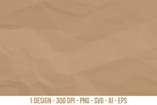 Crumpled Paper Texture Graphic Textures By Creativeclipcloud