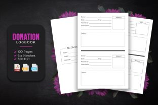 Donation Log Book KDP Interior Design Graphic KDP Interiors By srsadi123