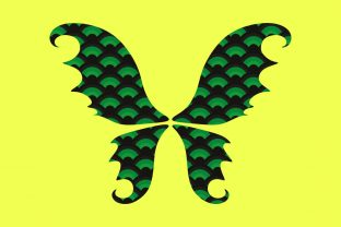 Print on Demand: Fairy Wings Shamrock Sublimation Graphic Print Templates By expressyourself82