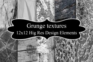 Print on Demand: Grunge Textures Design Elements Graphic Textures By A Design in Time