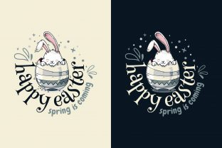 Happy Easter ! Spring is Coming Graphic Illustrations By onoborgol