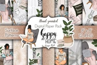 Happy at Home Patterns Graphic Patterns By Tanya Kart